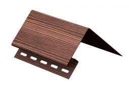 Околооконный профиль Ю-Пласт Тимбер-Блок Дуб мореный