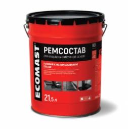 Ремонтный состав Ecomast, металлическое ведро 5 л