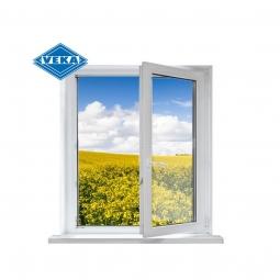 Окно ПВХ Veka 600х600 мм одностворчатое П 1 стекло