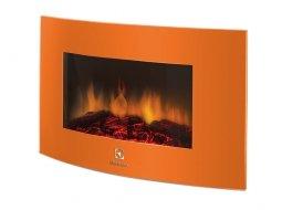 Камин электрический Electrolux EFP/W-1200URLS подвесной оранжевый