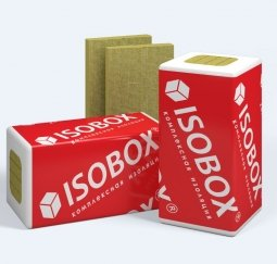 Базальтовый утеплитель ISOBOX Экстралайт 1200*600*100 пл.