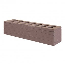 Кирпич лицевой керамический «Шоколад» «Плитняк» пустотелый Евро одинарный