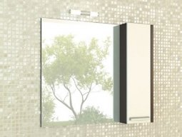 Шкаф-зеркало Comforty Барселона 90 Венге