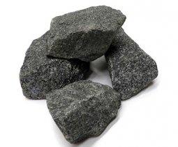 Камень для бани Атлант Камень Габбро-диабаз в коробке 20 кг
