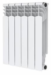 Радиатор алюминиевый PF 500 6 секц. с 2 кронштейнами