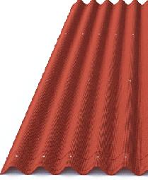 Ондулин Лист 950х2000 красный