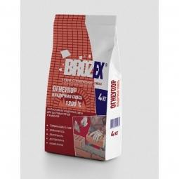 Смесь для кладки печей и каминов Brozex Огнеупор жаростойкая 4 кг