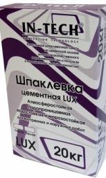 Шпатлевка In-Teck Lux цементная белая 5 кг