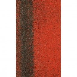 Коньково-карнизная черепица Shinglas Кадриль-соната, Турмалин красный, 1000х250мм