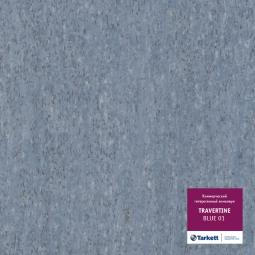 Линолеум коммерческий гетерогенный Tarkett Travertine Blue 1 3 м рулон