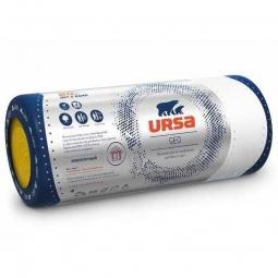 Стекловолоконный утеплитель Ursa Geo М-25Ф 9000х1200х50 мм