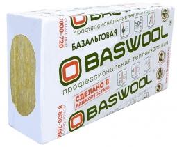 Минераловатный утеплитель Baswool Руф Н 100 1200х600х50 мм / 4 шт.