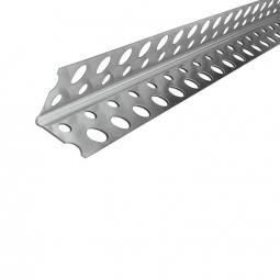 Профиль ПУ перфорированный 20х20х3000 алюминиевый