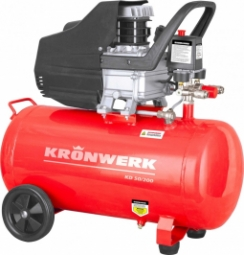 Компрессор Kronwerk KD 50/200 (1.5 кВт, 198 л/мин, 50 л)