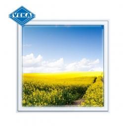 Окно ПВХ Veka 600х600 мм одностворчатое Г 2 стеклопакет