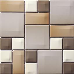 Мозаика Vitra Day-to-Day 300х300 норковая глянцевая 5400658