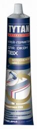Клей-герметик для окон ПВХ Tytan белый 200гр