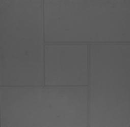 Плитка тротуарная Квадрат Калифорния-3 Шагрень Вибролитая 300х300х30 Черная