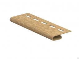 Завершающая планка Ю-Пласт Тимбер-Блок кедр