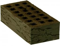 Кирпич лицевой керамический «Коричневый» «Грецкий орех» пустотелый одинарный