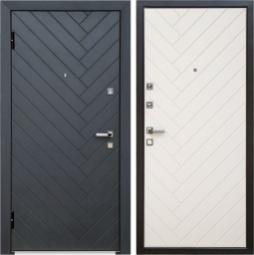 Металлическая дверь Хай-тек, Йошкар-Ола, 960*2050, софт милк белый