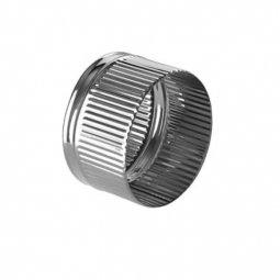 Заглушка нержавеющая Ferrum П 430/0.5 мм ф120 внутренняя